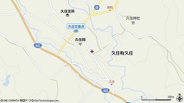 大分県竹田市久住町大字久住619周辺の地図