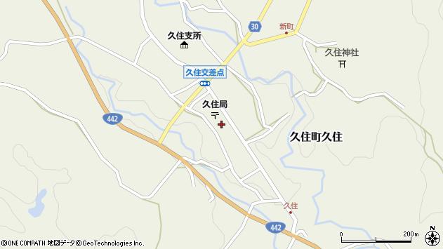 大分県竹田市久住町大字久住6134周辺の地図