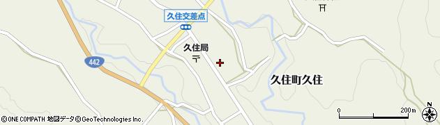 大分県竹田市久住町大字久住6186周辺の地図