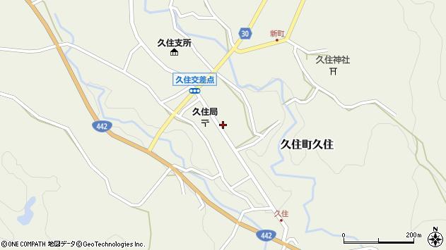 大分県竹田市久住町大字久住6183周辺の地図