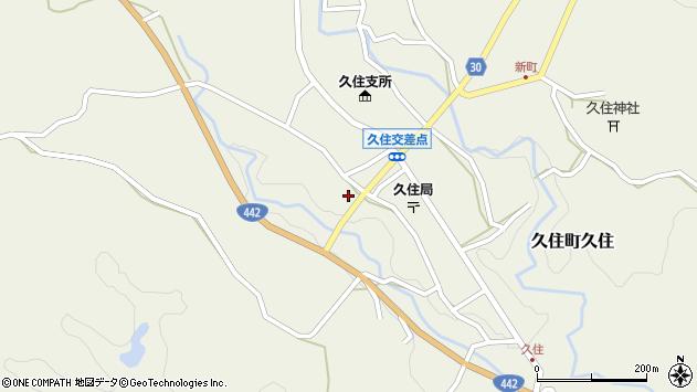 大分県竹田市久住町大字久住5994周辺の地図