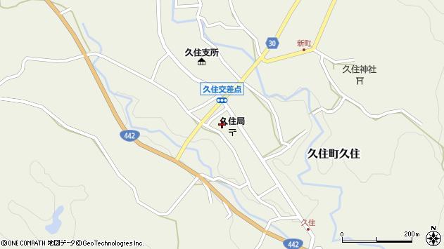 大分県竹田市久住町大字久住6142周辺の地図