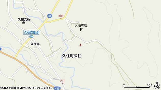 大分県竹田市久住町大字久住6510周辺の地図