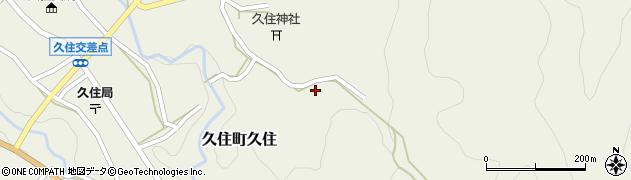 大分県竹田市久住町大字久住6616周辺の地図