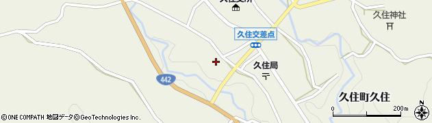 大分県竹田市久住町大字久住5987周辺の地図