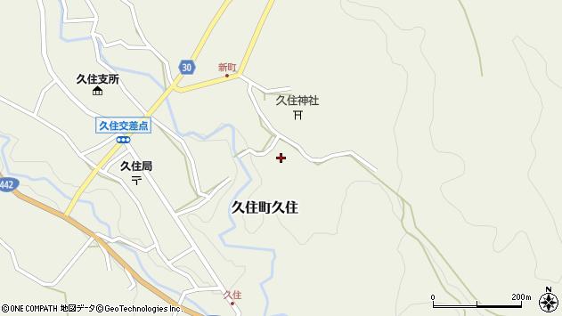 大分県竹田市久住町大字久住6511周辺の地図