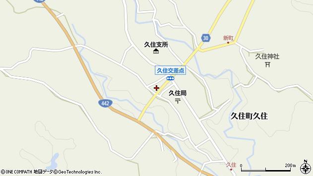 大分県竹田市久住町大字久住5990周辺の地図