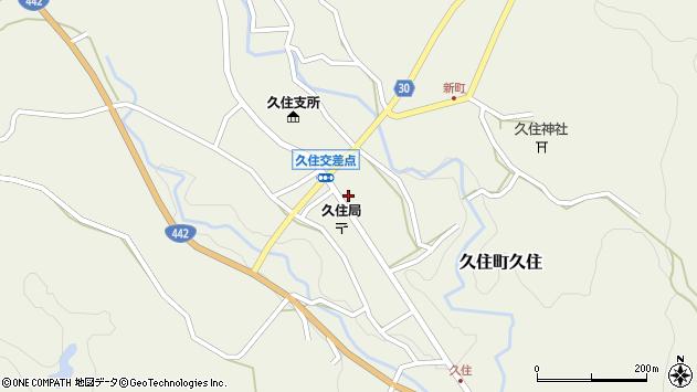 大分県竹田市久住町大字久住6172周辺の地図