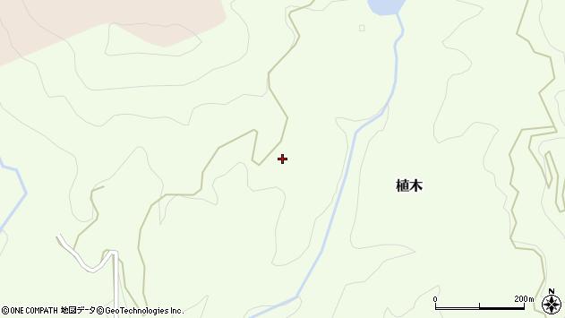 大分県竹田市植木6165周辺の地図