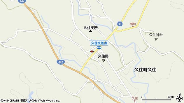 大分県竹田市久住町大字久住5989周辺の地図
