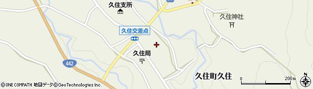 大分県竹田市久住町大字久住5176周辺の地図
