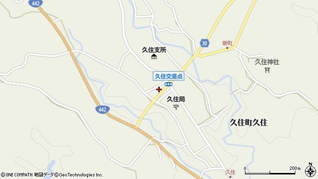 大分県竹田市久住町大字久住6147周辺の地図