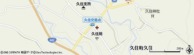 大分県竹田市久住町大字久住6171周辺の地図