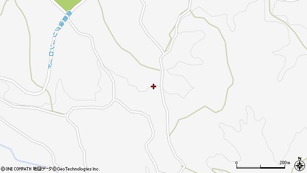 大分県竹田市久住町大字白丹3373周辺の地図