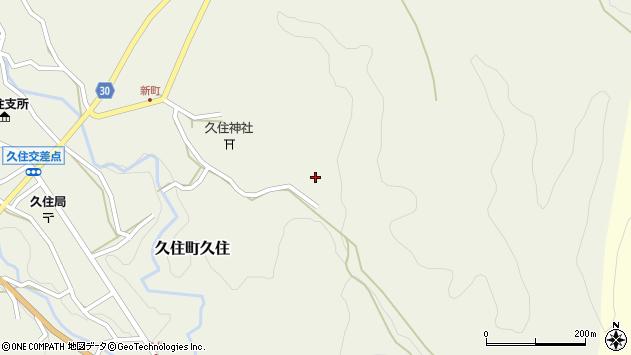 大分県竹田市久住町大字久住6611周辺の地図