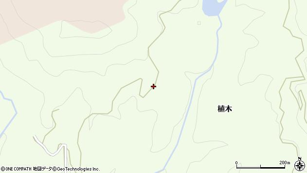 大分県竹田市植木6206周辺の地図