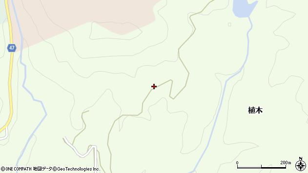 大分県竹田市植木6135周辺の地図
