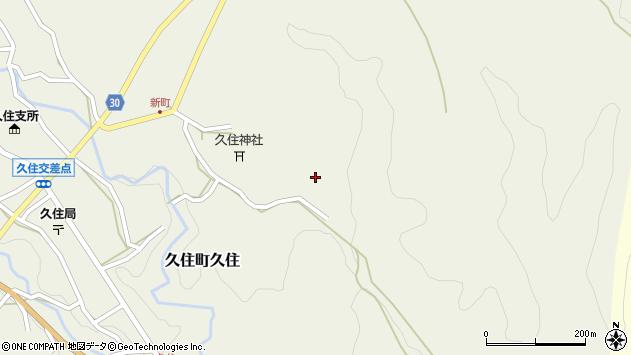 大分県竹田市久住町大字久住6603周辺の地図