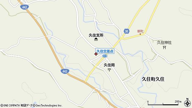 大分県竹田市久住町大字久住5975周辺の地図