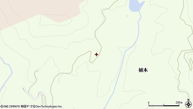 大分県竹田市植木6207周辺の地図