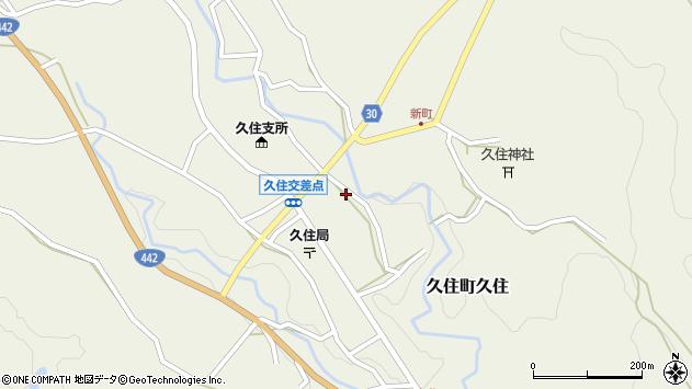 大分県竹田市久住町大字久住6169周辺の地図