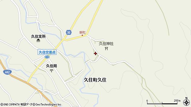 大分県竹田市久住町大字久住6494周辺の地図