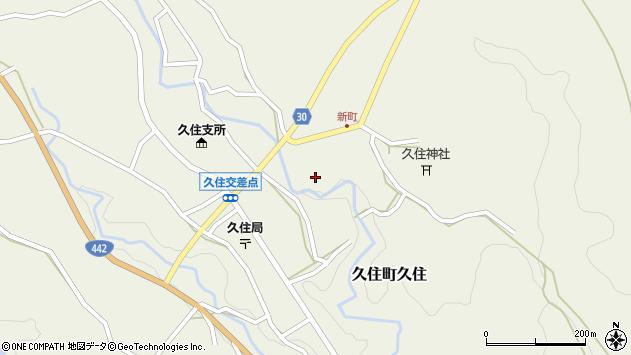 大分県竹田市久住町大字久住6283周辺の地図