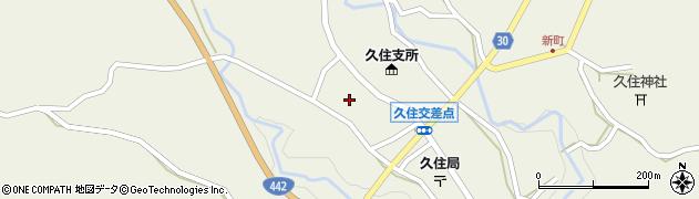 大分県竹田市久住町大字久住5969周辺の地図