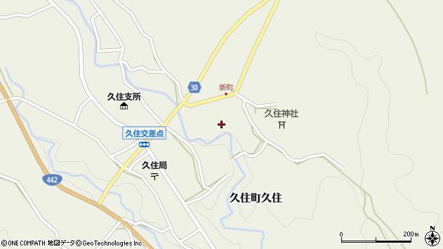 大分県竹田市久住町大字久住6489周辺の地図