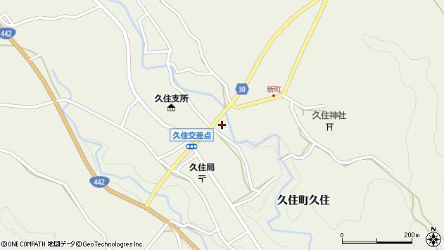 大分県竹田市久住町大字久住6247周辺の地図