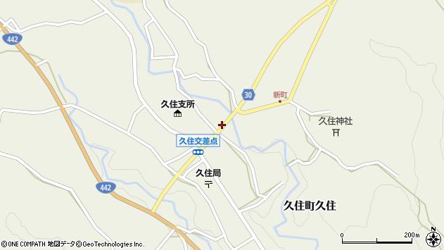 大分県竹田市久住町大字久住6250周辺の地図