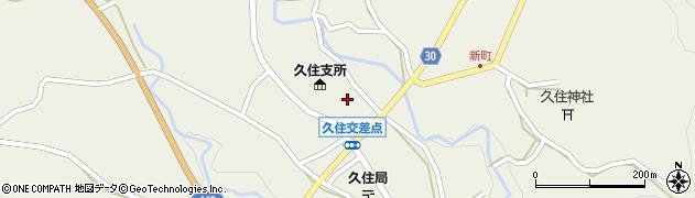 大分県竹田市久住町大字久住6161周辺の地図