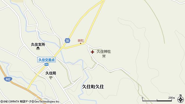 大分県竹田市久住町大字久住6482周辺の地図