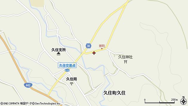 大分県竹田市久住町大字久住6274周辺の地図