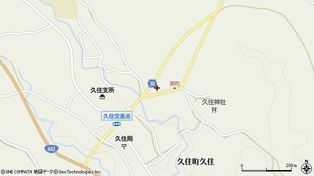 大分県竹田市久住町大字久住6265周辺の地図