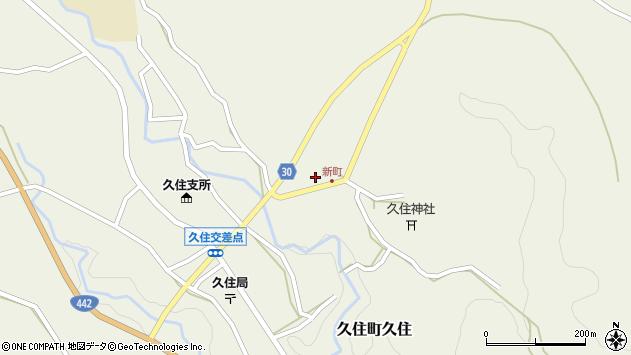 大分県竹田市久住町大字久住6268周辺の地図
