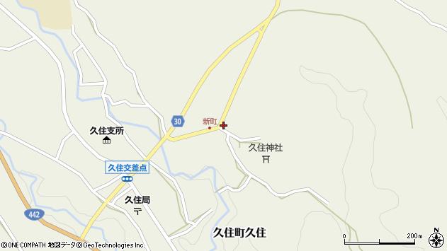 大分県竹田市久住町大字久住6434周辺の地図