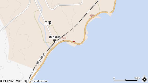 大分県佐伯市二栄574周辺の地図