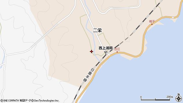 大分県佐伯市二栄1218周辺の地図