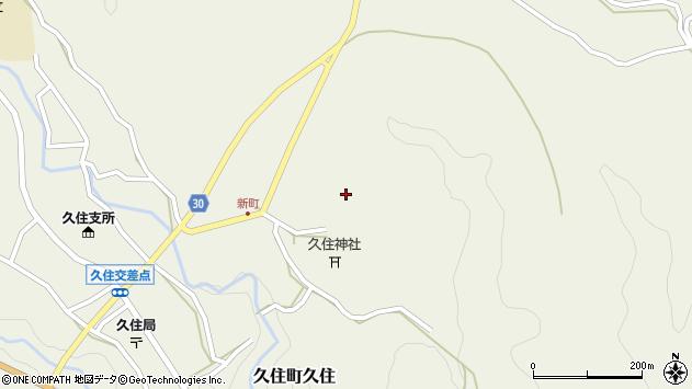 大分県竹田市久住町大字久住6470周辺の地図