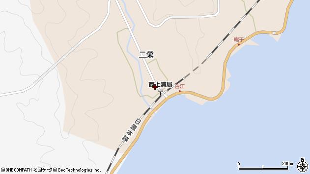 大分県佐伯市二栄1141周辺の地図