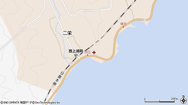 大分県佐伯市二栄581周辺の地図