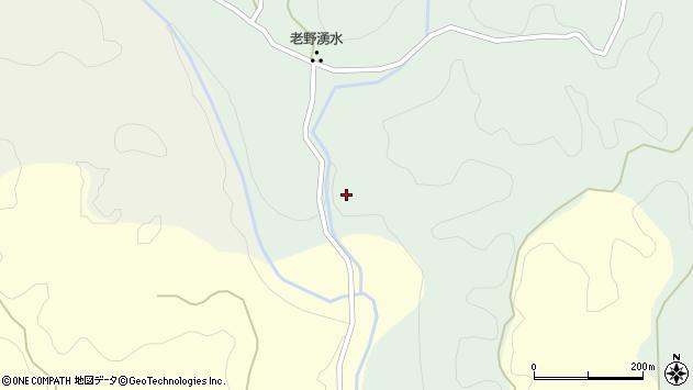 大分県竹田市久住町大字栢木59周辺の地図