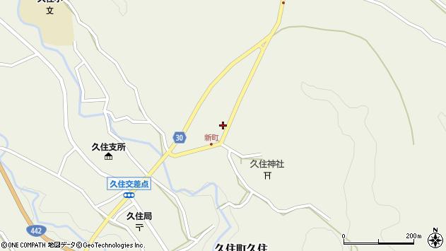 大分県竹田市久住町大字久住6428周辺の地図