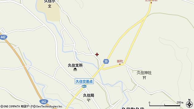 大分県竹田市久住町大字久住2782周辺の地図