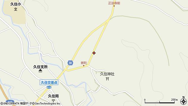 大分県竹田市久住町大字久住6441周辺の地図