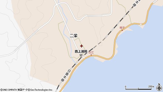 大分県佐伯市二栄1128周辺の地図