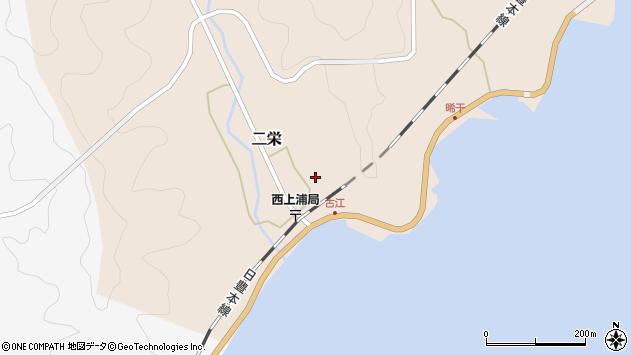 大分県佐伯市二栄628周辺の地図