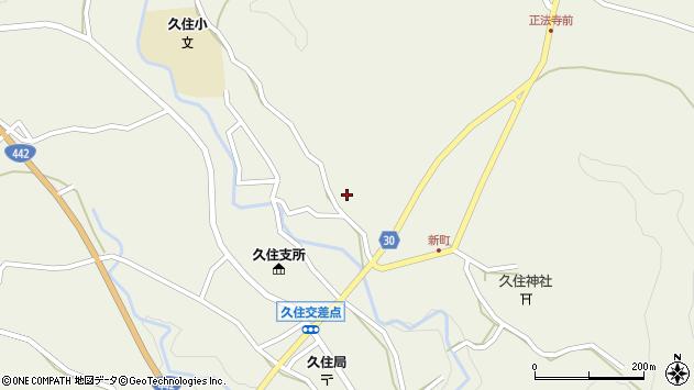 大分県竹田市久住町大字久住2795周辺の地図