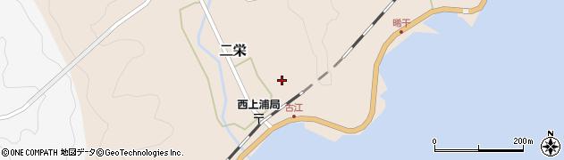 大分県佐伯市二栄591周辺の地図